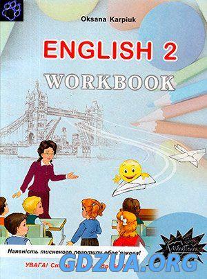 оксана карпюк англійська мова 9 клас workbook гдз